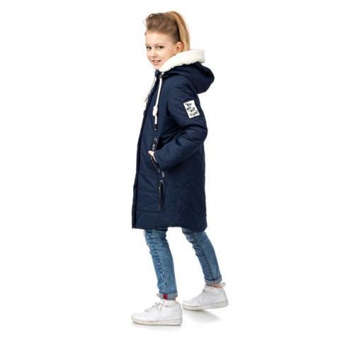 ALPEX осень-зима SALE! пальто ПД 1124 син.