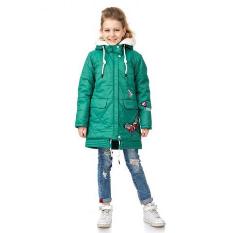 ALPEX осень-зима SALE! куртка КД 1113 зел.