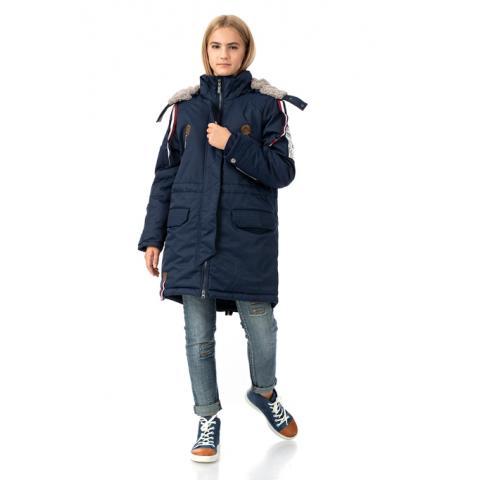 ALPEX осень-зима SALE! куртка КД 1134 син.
