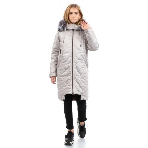 ALPEX новая коллекция пальто ПД 1135 беж.