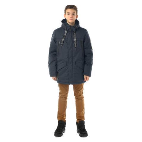 ALPEX новая коллекция куртка межсезонная КМ 1130 син.