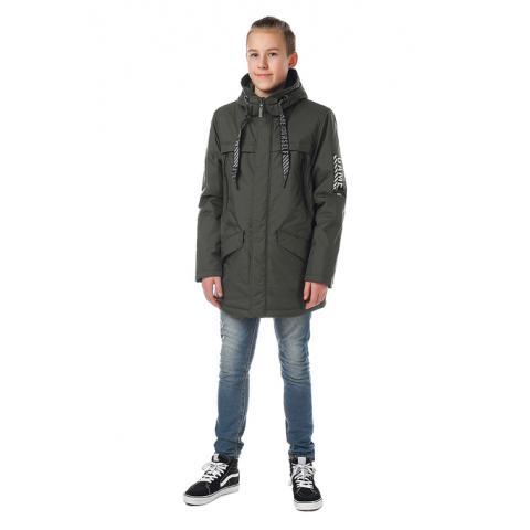 ALPEX новая коллекция куртка межсезонная КМ 1130 хаки.