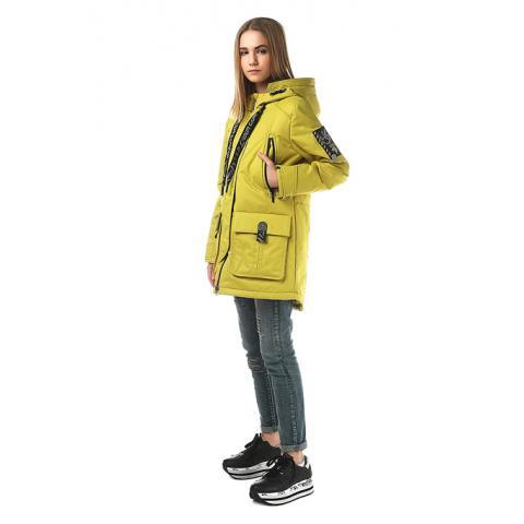 ALPEX новая коллекция куртка межсезонная КМ 1137 оли.