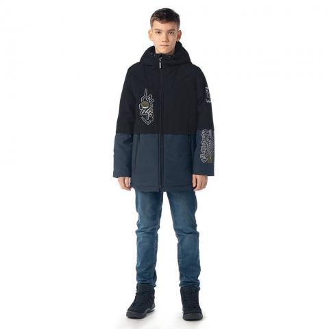ALPEX новая коллекция куртка межсезонная КМ 1147 син.