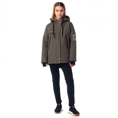 ALPEX новая коллекция куртка межсезонная КМ 1139 хаки.