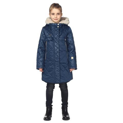 ALPEX новая коллекция пальто ПД 1150 син.
