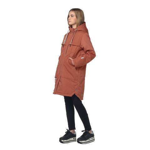 ALPEX новая коллекция пальто ПД 1152 оран.