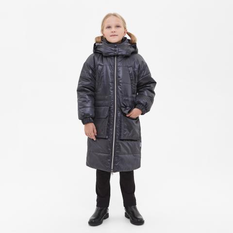 ALPEX новая коллекция пальто ПД 1172 чер.